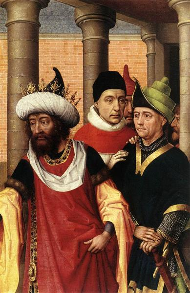 Group of Men, c.1460 - Rogier van der Weyden