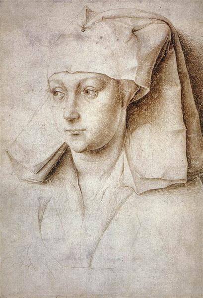 Portrait of a Young Woman, 1440 - Rogier van der Weyden