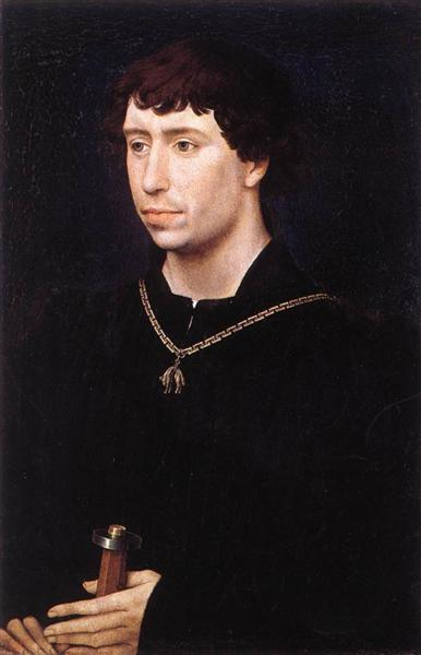 Portrait of Charles the Bold, c.1460 - Rogier van der Weyden