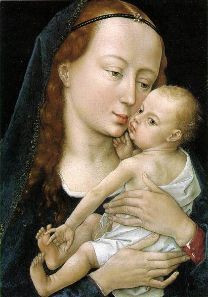 Virgin and Child, 1454 - Rogier van der Weyden