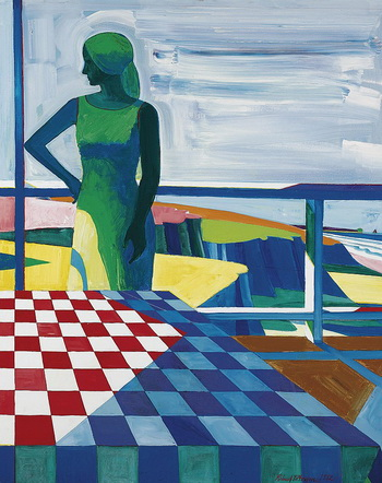 Balcony Figure, 1982 - Roland Petersen