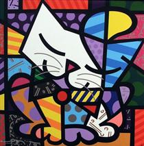 Romero Britto 36 Obras De Arte Pintura
