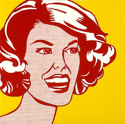 Head - red and yellow, 1962 - Roy Lichtenstein