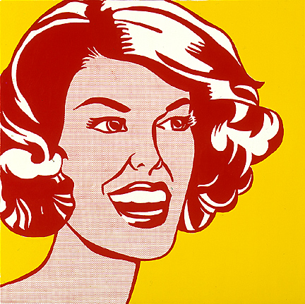 What Kind Of Paint Did Roy Lichtenstein Use