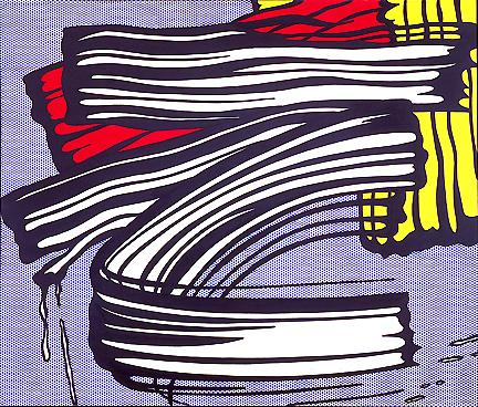 Little big painting, 1965 - Roy Lichtenstein