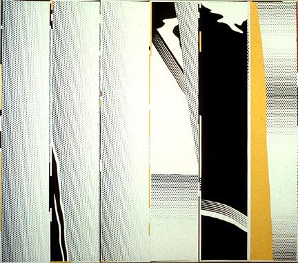 Mirror six panels #1, 1970 - Roy Lichtenstein