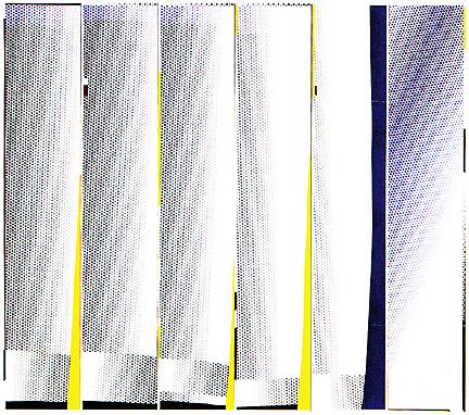 Mirror six panels #3, 1971 - Roy Lichtenstein
