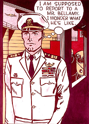 Mr. Bellamy, 1961 - Roy Lichtenstein