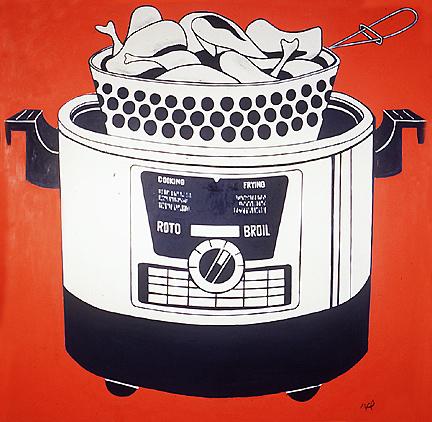 Roto Broil, 1961 - Roy Lichtenstein