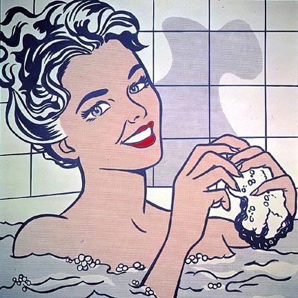 Woman in bath, 1963 - Roy Lichtenstein