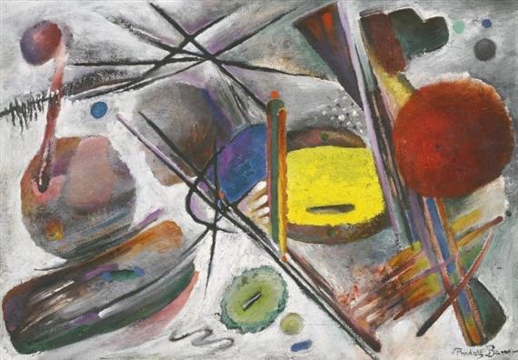 Untitled, 1919 - Rudolf Bauer