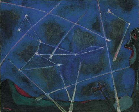 Cuerpos celestes - Rufino Tamayo
