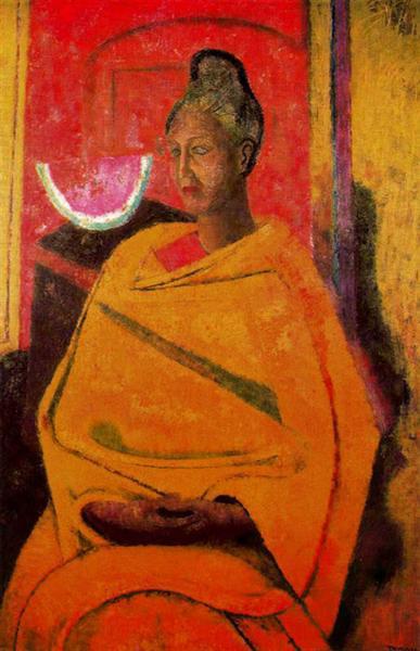 Retrato de Olga, 1964 - Rufino Tamayo