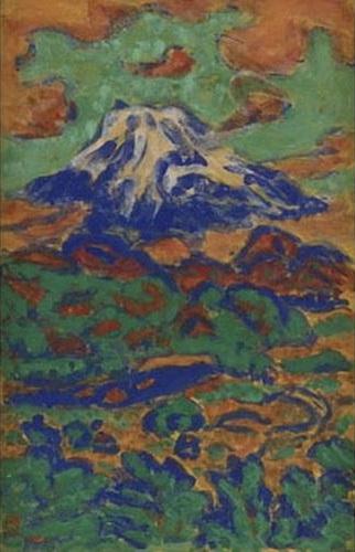 Mount Fuji Seen from Ohito - Umehara Ryuzaburo