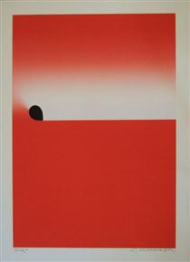 Light From Square Red - Sadamasa Motonaga
