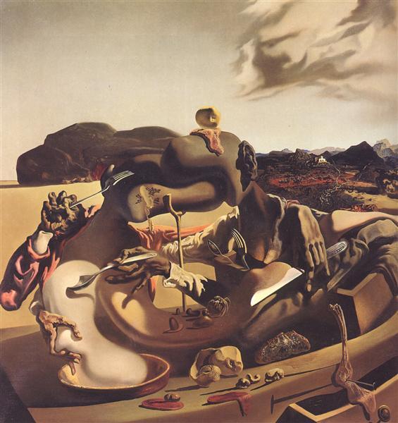 Autumnal Cannibalism, 1936 - Salvador Dali