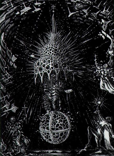 Celestial Coronation - Salvador Dali