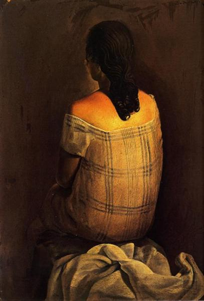 Figure from the Back, 1925 - Salvador Dali
