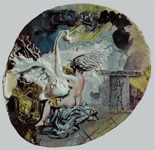 Leda's Swan (Leda and the Swan), 1961 - Salvador Dali
