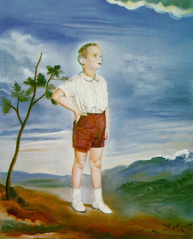 Portrait of a Child (unfinished), 1951