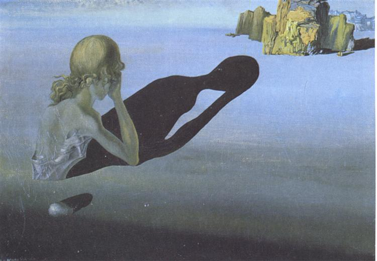 Remorse, or Sphinx Embedded in the Sand, 1931 - Salvador Dali