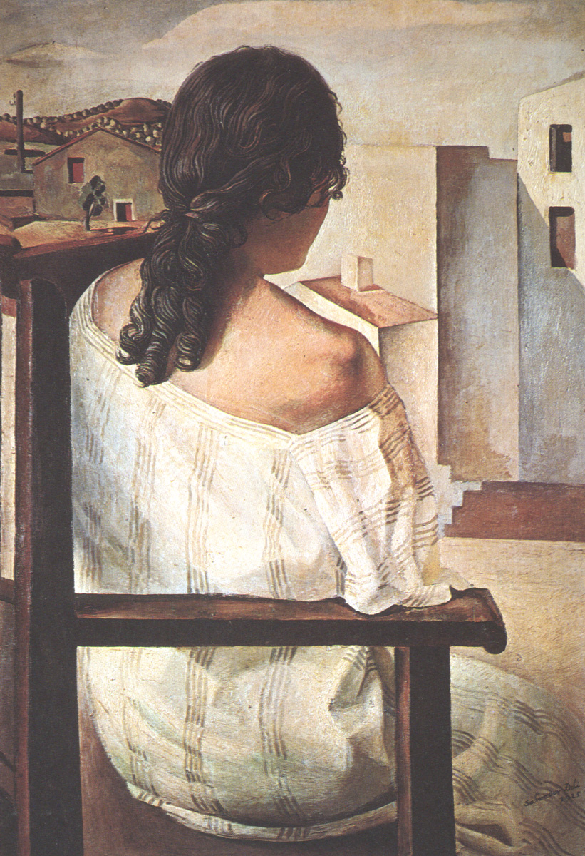 Seated Girl Seen from the Back, 1928