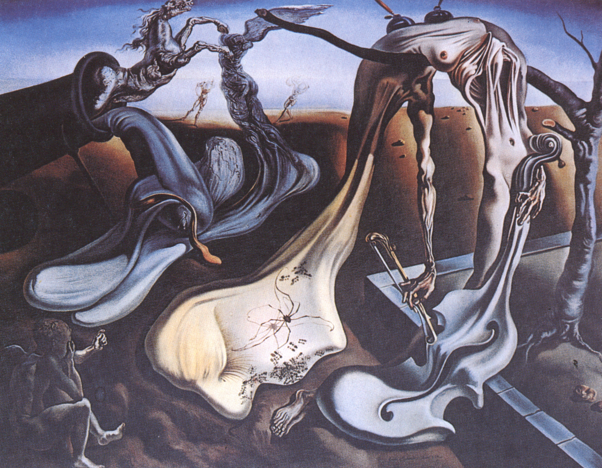 Spider of the evening uploads5 wikiart org images salvador dali spider of the evening jpg
