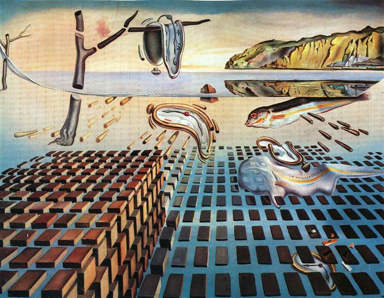 The Disintegration of the Persistence of Memory, 1952 - 1954 - Salvador Dalí