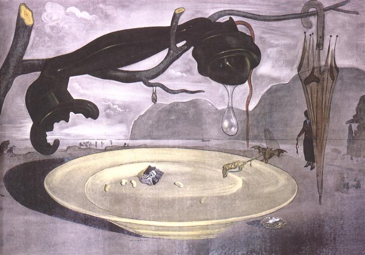 The Enigma of Hitler, 1938 - Salvador Dali