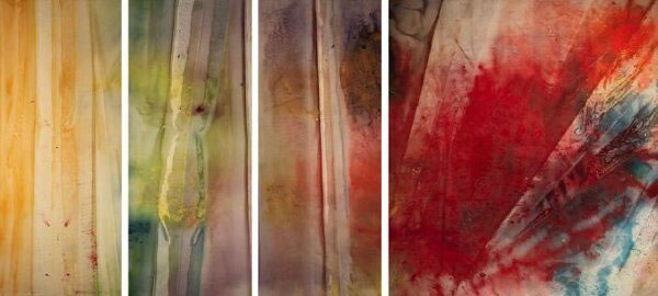 A Warmth, A Lightness, A Glow and Then, 1968 - Sam Gilliam