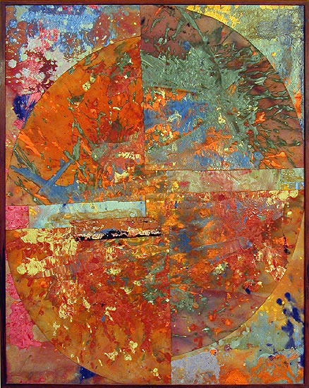 Baptistry, 1975 - Sam Gilliam
