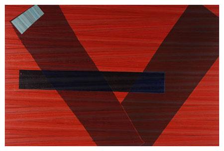 Blue Line, 2004 - Sam Gilliam