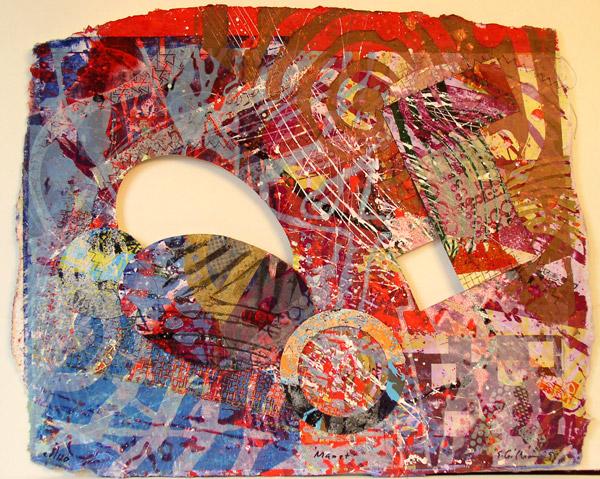 Manet III, 1999 - Sam Gilliam