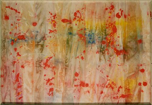 Red April, 1970 - Sam Gilliam
