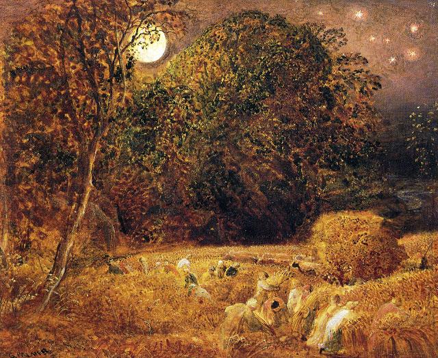 The Harvest Moon, 1833 - Samuel Palmer