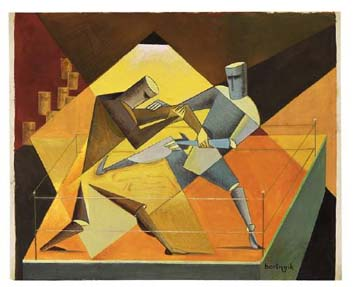 Boxer, 1926 - Sandor Bortnyik