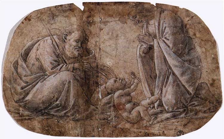Adoration of the Child, c.1495 - Sandro Botticelli