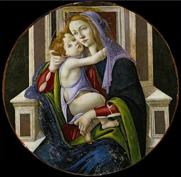 Madonna and Child, 1500 - 1510 - Sandro Botticelli