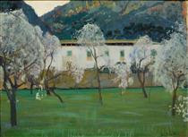 White Farmhouse (Bunyola, Majorca) - Santiago Rusiñol