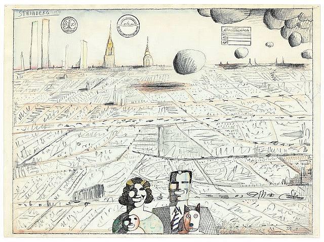 Utopia, 1974 - Saul Steinberg