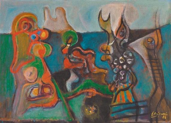 Jeux des formes, 1988
