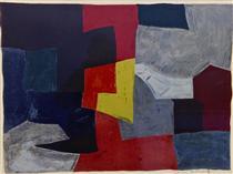 Composition grise, rouge et jaune - Серж Поляков