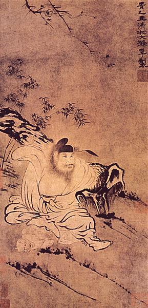 Zhong Kui, Demons tamer, 1680 - 1685 - Shi Tao