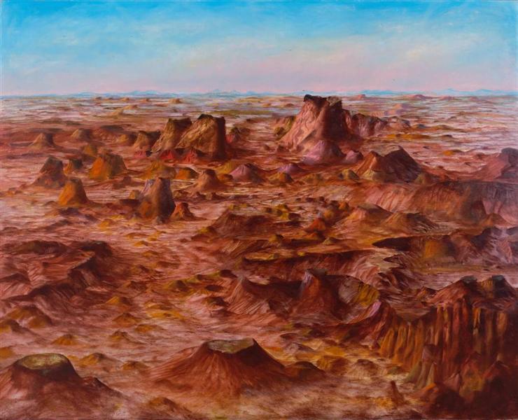 Inland Australia, 1950 - Sidney Nolan