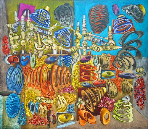 Peinture, 1952 - Simon Hantai