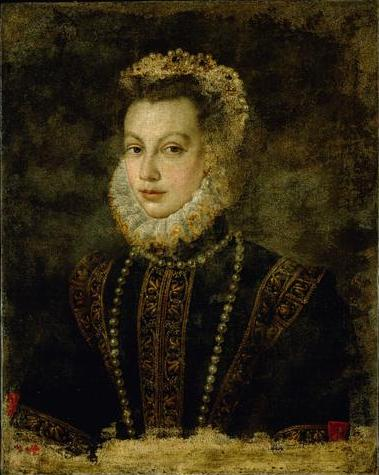 Portrait of Queen Elisabeth of Spain, 1599 - Sofonisba Anguissola