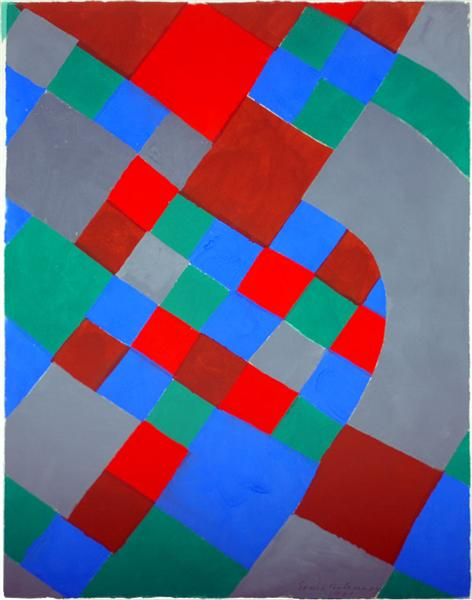 Word poetry, poetry of colors - Sonia Delaunay