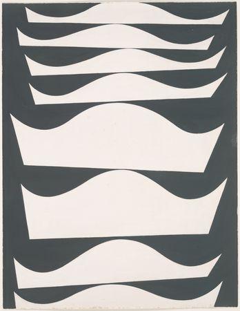 Echelonnement desaxe, 1934 - Sophie Taeuber-Arp