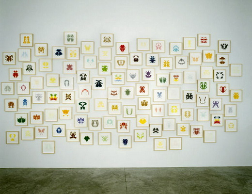 102 Colors from My Dreams, 2002 - Spencer Finch