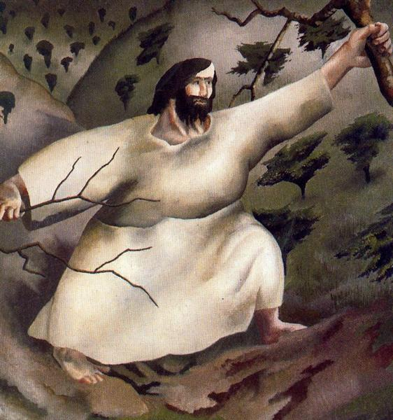 Christ in the Wilderness - Driven by the Spirit - Stanley Spencer